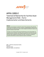 APPA 1000-2 – Part 2:  Implementation and Data Elements [PDF]